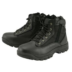 """Milwauke Leather Mens 6"""" Leather Tactical Lace Front Boot wi"""