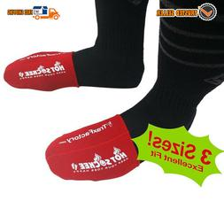 Hot Sockee Neoprene Toe Warmers Worn Inside Shoes or Boots C