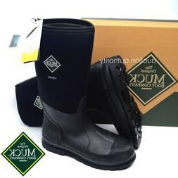 NEW Muck Boots CHORE Hi High Black Waterproof Work Boots Tal