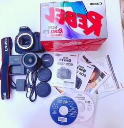 NEW Canon EOS Rebel T5 / EOS 1200D 18.0MP Digital SLR Camera