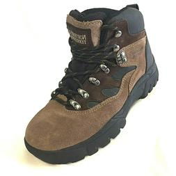 NEW Northwest Territory Hiking Boots Mens Suede Leather 5.5