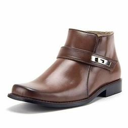 New Majestic Men's 38901 Ankle High Bootie Square Toe Casual