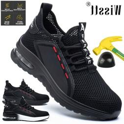 New Safety Shoes Military Steel Toe Work Boots Hiking Anti P