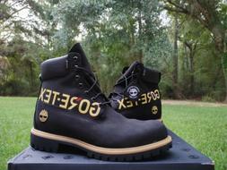 """NIB Men Timberland 6"""" GORE TEX boots sz 10 TBOA2ECJ black"""