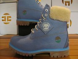 "Timberland Premium 6"" WATERPROOF Boots x JUST DON $199 Blue"