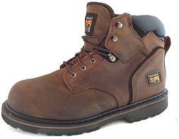 "Timberland PRO 33034 Pit Boss Steel Toe Men's Work Boots 6"""