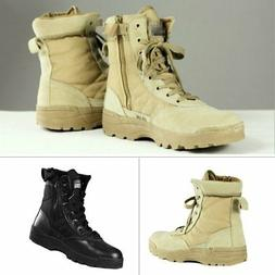 Tactical Forced Entry Leather Deployment Boot Military SWAT