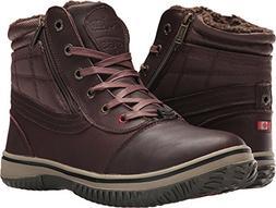 Pajar Mens Tavin-Boot, Color: Dk Brown Leather, Size: 45