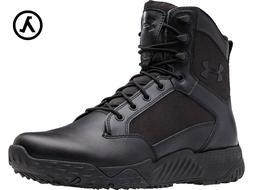 "UNDER ARMOUR UA STELLAR TACTICAL 8"" BOOTS 1268951 / BLACK  -"