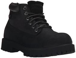 Skechers Men's Sergeants Verdict Chukka Boot,Black Waterproo