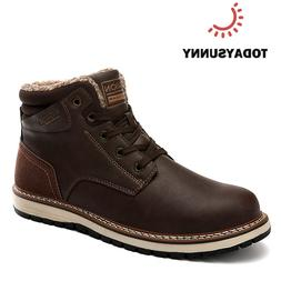 Winter Men's <font><b>boots</b></font> Male Genuine Leather