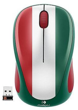 Logitech Wireless Mouse M317, Mexico Soccer Fan Edition