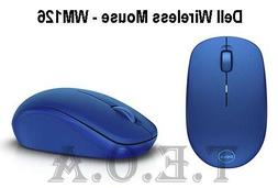 Dell Wireless Mouse-WM126 - Blue - Brand New Sealed