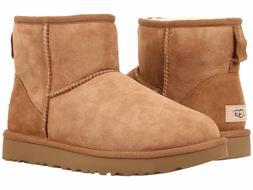 Women's Shoes UGG Classic Mini II Boots 1016222 Chestnut 5 6