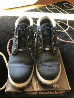 Timberland Women's Size 9 Nellie Double WP Ankle Boots Navy